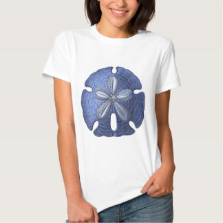 Blue Sand Dollar Tee Shirts