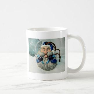 Blue Santa I Coffee Mug