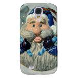 Blue Santa I Galaxy S4 Cases