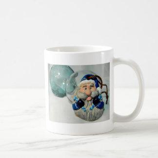 Blue Santa II Coffee Mug
