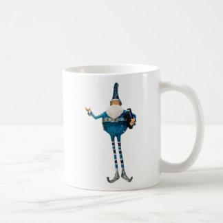 Blue Santa mug