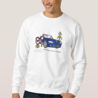 Blue Santa Pull Over Sweatshirt