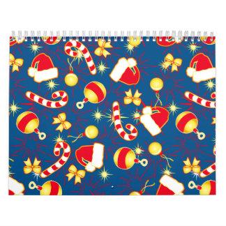 Blue - Santa's cap Calendar
