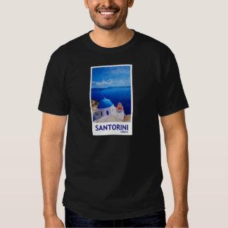 Blue Santorini, Greece - View from Oia Shirt