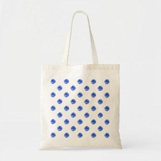 Blue Sapphire Gemstones Tote Bag