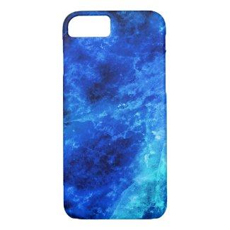 Blue Sapphire Texture iPhone 7 Case
