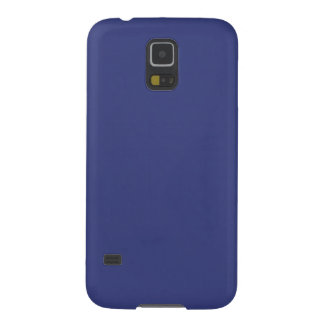 Blue Satin Look and Customize them yourself Case For Galaxy S5