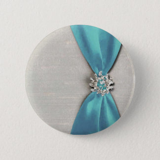 blue satin ribbon with jewel copy button