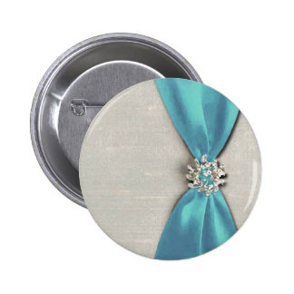 blue satin ribbon with jewel copy buttons