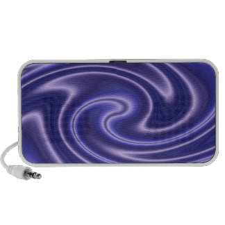 blue satin swirl speakers