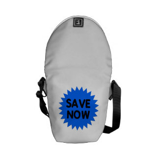 Blue Save Now Courier Bags