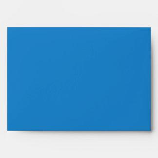 Blue Save the Day Superhero Custom Envelopes