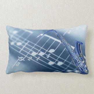 Blue Saxophone American MoJo Pillows