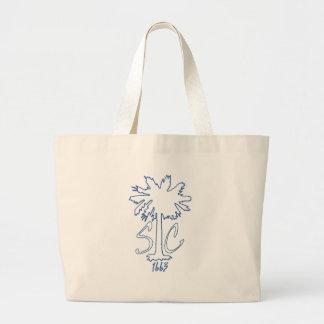 Blue SC 1663 BC Large Tote Bag