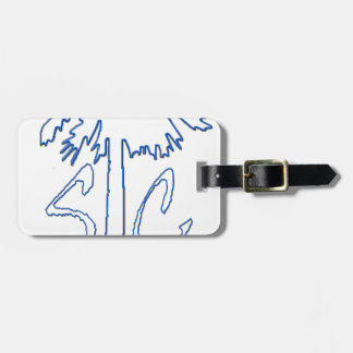 Blue SC 1663 BC Tag For Luggage