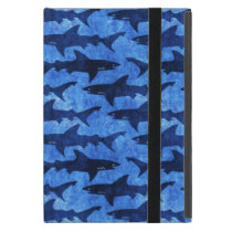 Blue School of Sharks Case For iPad Mini