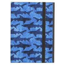 Blue School of Sharks Cover For iPad Air