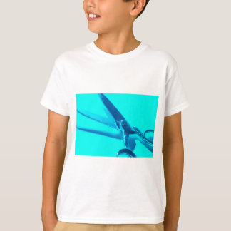 Blue scissors T-Shirt