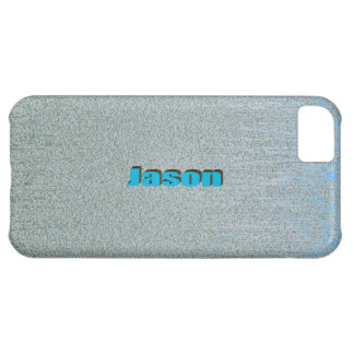 Blue Scratch iPhone 5 case for Jason