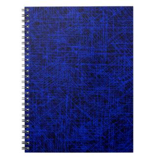 """Blue """"Scratch"""" Notebook"""