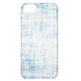 Blue scratched cover for iPhone 5C