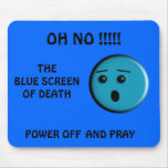 Blue Screen of Death - - Customized - Customized Mouse Mat