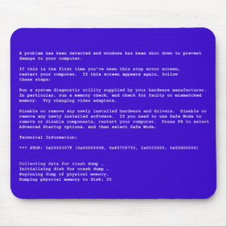 Blue Screen of Death Mouse Pad