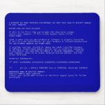 Blue Screen Of Death Mousemat