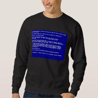 Blue Screen of Death Sweatshirt