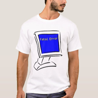 Blue Screen T-Shirt
