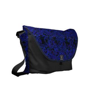 Blue Scruff Courier Bag