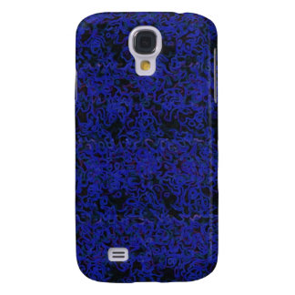 Blue Scruff Samsung Galaxy S4 Cover