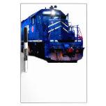 Blue SD-40 Locomotive Dry-Erase Whiteboard