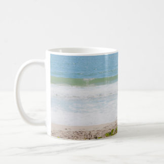 Blue sea Beach Photography Coffee Mug