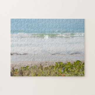 Blue sea Beach Photography Puzzle