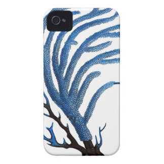 Blue sea coral no. 2 beach wall art decor iPhone 4 case