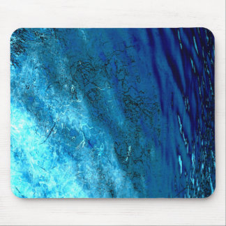 Blue sea design 2 mouse pad