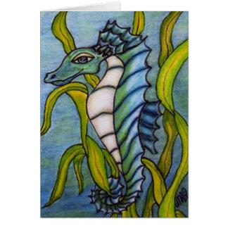 Blue Sea Dragon Card