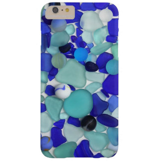 Blue Sea Glass and Sea Marbles Barely There iPhone 6 Plus Case