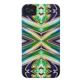 Blue Sea Green Pop Soothing Pattern iPhone 4 Cover
