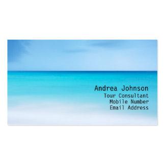 Blue Sea Horizon Business Card