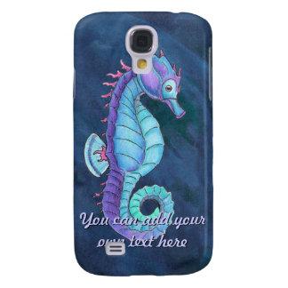 Blue Sea Horse iPhone 3 Case
