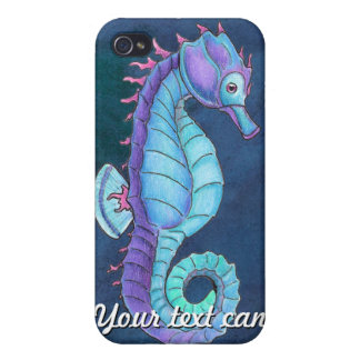 Blue Sea Horse iPone 4 Speck Case