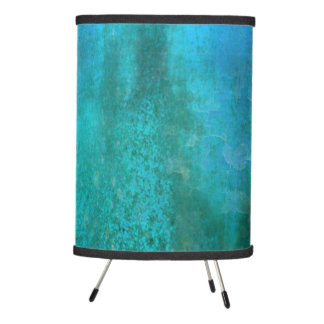 BLUE SEA | modern texture abstract Tripod Lamp