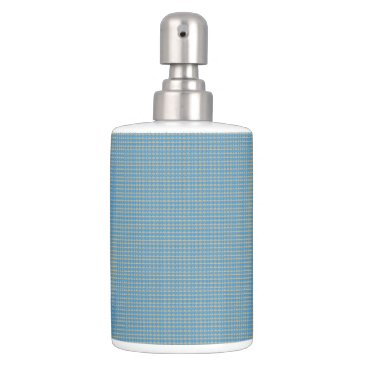 Beach Themed Blue-Sea-Net-Beach-Bath(c)Kitchen_Bathroom Soap Dispenser And Toothbrush Holder