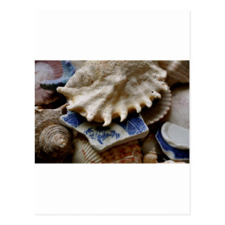 Blue Sea Pottery Postcard