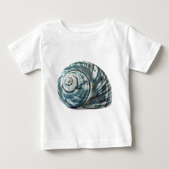 Blue Sea Shell Baby T-Shirt