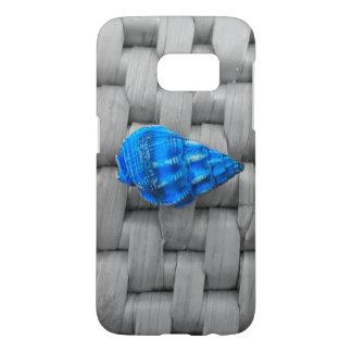 Blue Sea Shell Samsung Galaxy S7 Case