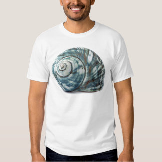 Blue Sea Shell T Shirt
