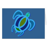 Blue Sea Turtle Cards